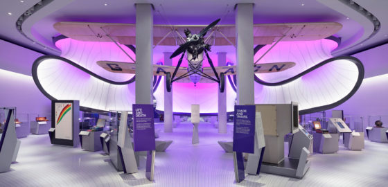 Video: over de vloer bij de Mathematics Gallery in het Science Museum Londen