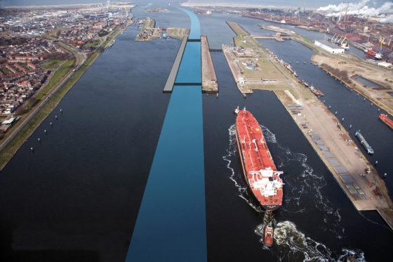 Grootste zeesluis kost half miljard