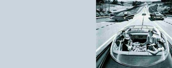 Zelfrijdende auto: asfalt wordt digitale snelweg