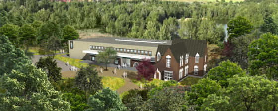Monumentaal gemeentehuis Waalre wordt in ere hersteld