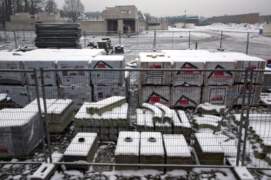 Code rood legt ook bouw in Noord-Nederland plat