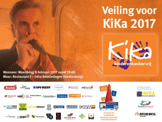 Veiling voor KiKa op Infra Relatiedagen Hardenberg