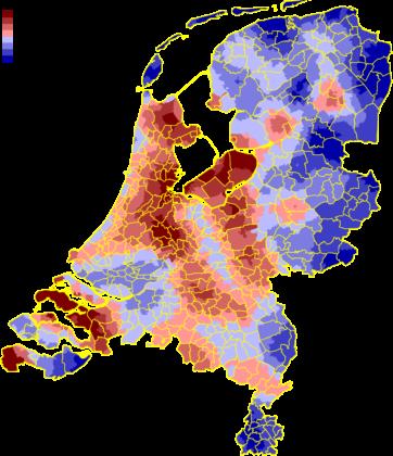 Woningbouwprojecten per regio