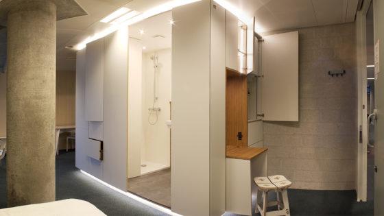 Op maat gefreesde cabines maken ministerie geschikt voor bewoning