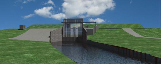 Texel: nieuwe gemalen en versteviging Waddenzeedijk