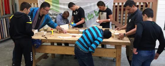 Vmbo-leerlingen maken kennis met de bouw
