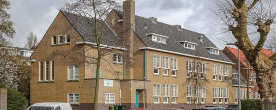 Riant wonen in voormalig schoolgebouw Rotterdam
