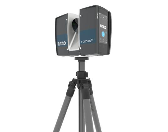 Nieuwe FARO FocusS Laser Scanner met IP54 classificering en onsite compensatie