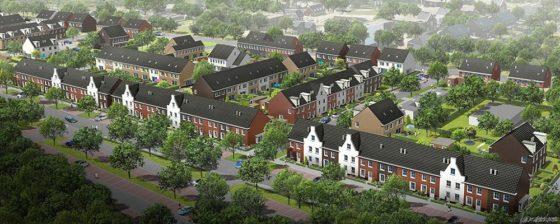 Nieuwe woonwijk Deurne krijgt vorm