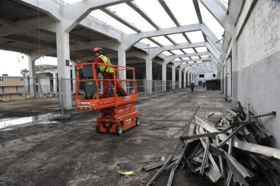 Transformatie op z'n Rotterdams: 212 lofts op gigantische stalen tafel