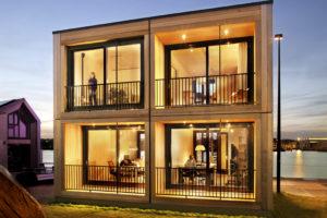 Finch Buildings bouwt steeds meer houten woningen in Nederland