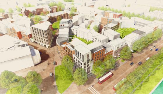 Voormalig ziekenhuisterrein 's-Hertogenbosch wordt Gasthuiskwartier