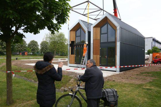 Heijmans One-woningen geplaatst in Weert