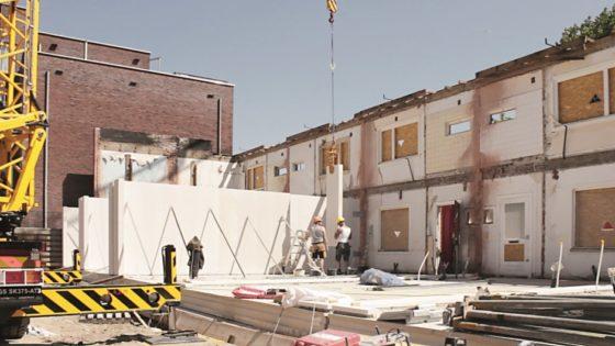 Vernieuwbouw maakt woningen in Hof van Egmond weer van deze tijd