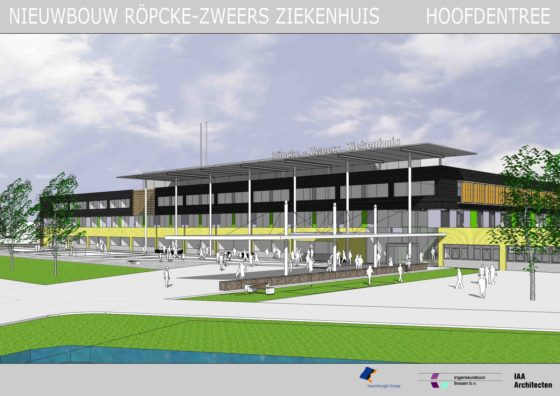 VolkerWessels en Dura Vermeer bouwen ziekenhuis Hardenberg