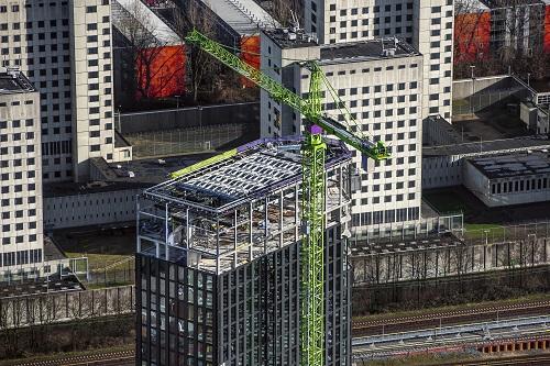 Intelligente gevel Hotel Amstelkwartier bespaart energie