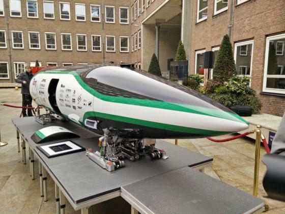 Delft Hyperloop verder als start up bedrijf