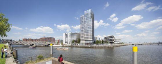 Hamburgse woon- en werktoren voor BAM