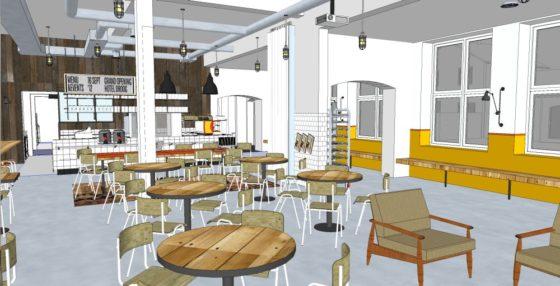 Een Sloophout Interieur : Sloophout woningen gebruikt in kantoor corporatie cobouw