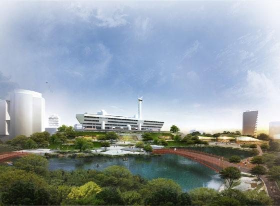 KCAP  maakt masterplan voor nieuw stadsdeel Singapore