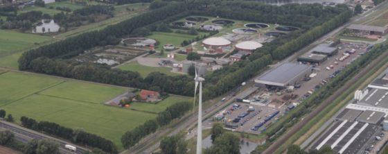 Zuiveringsinstallatie verandert in energiefabriek
