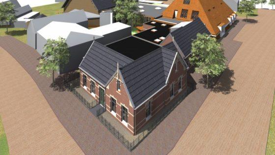 BAM bouwt 'hart van Anjum': multifunctioneel centrum én NAM-kantoor ineen