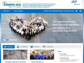 Ook Bauma 2016 is weer bijzonder goed bezocht