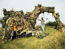 Case doet aan kunstige camouflage