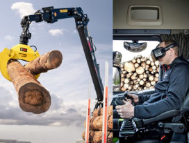 Grote interesse in Hiab's VR-systeem