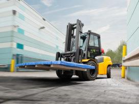 Jungheinrich introduceert 5-serie LPG-vorkheftrucks met koppelomvormer