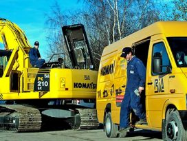 Komatsu: Groot potentieel Europese materieelmarkt