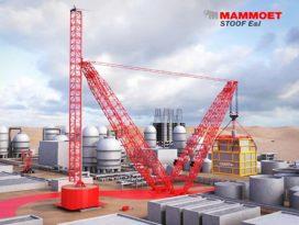 Focus kraanconcept voor hijsvermogens tot maar liefst 24.000 ton