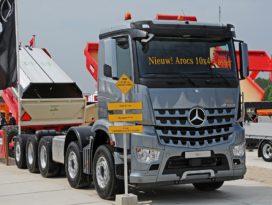 Splinternieuwe Mercedes vijfasser op TKD