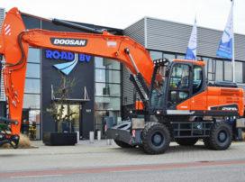 RoAD niet langer importeur van Doosan grondverzetmaterieel