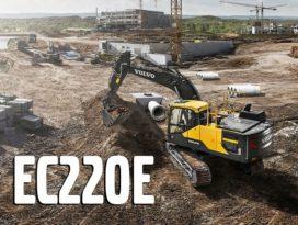 Volvo claimt: graafmachine EC220E zuiniger dan hybride