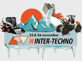 AR250e wiellader Weycor primeur tijdens Winter-Techno dagen