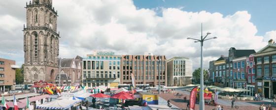 Merckt, nieuw gebouw voor centrum Groningen
