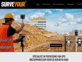 Surveyour wil GPS-meten voor ieder bedrijf bereikbaar maken