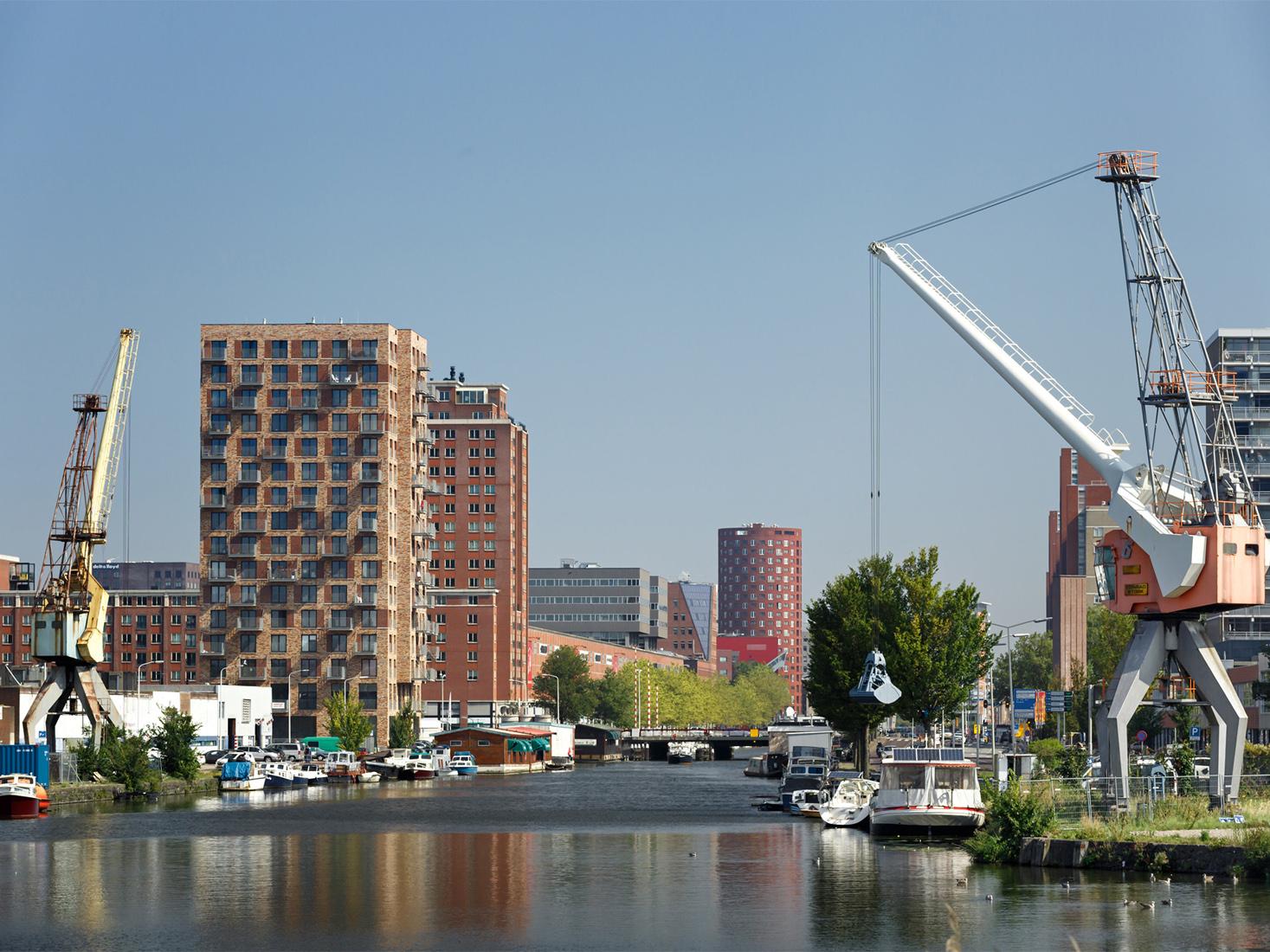 woningbouw Caland Tower Laakhaven Den Haag