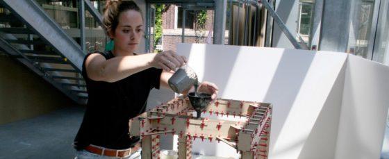 Subsidie voor 3D-bekisting sloppenwijk