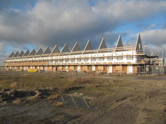 Stijging afgegeven bouwvergunningen in vierde kwartaal