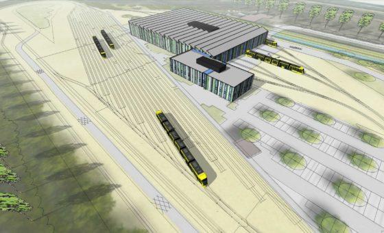 Strukton Rail pakt tramremise Nieuwegein aan