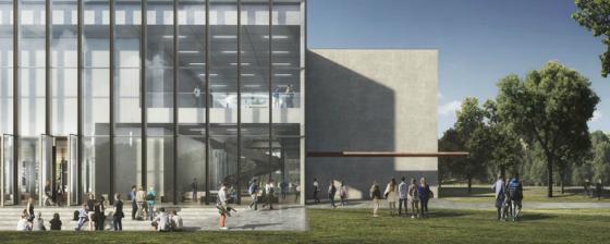 Campus Tilburg University krijgt nieuw onderwijsgebouw