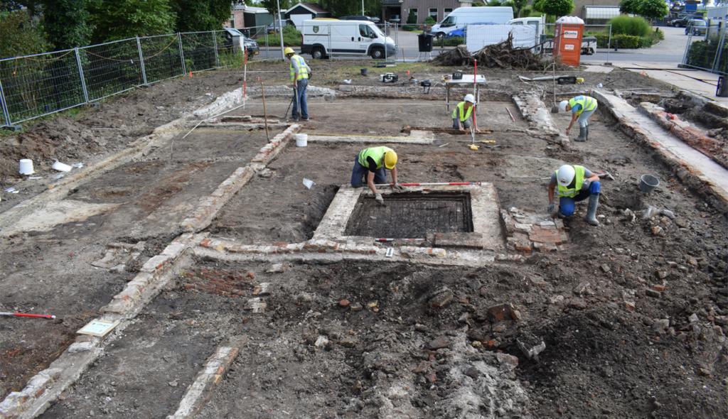 Archeologische opgraving Spanbroek