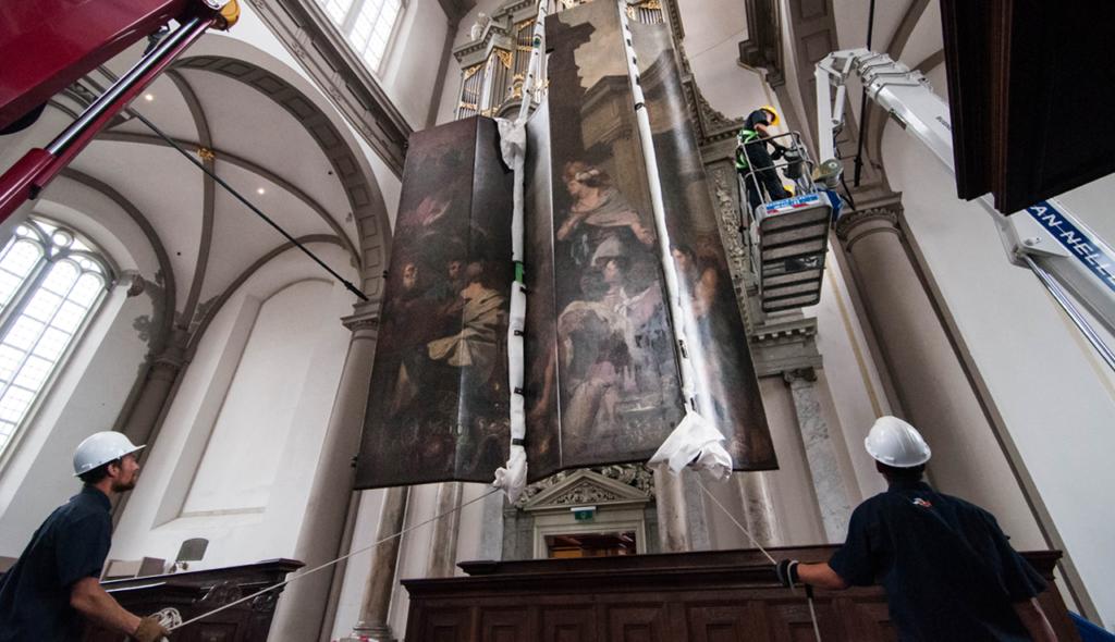 Orgelluiken op reis