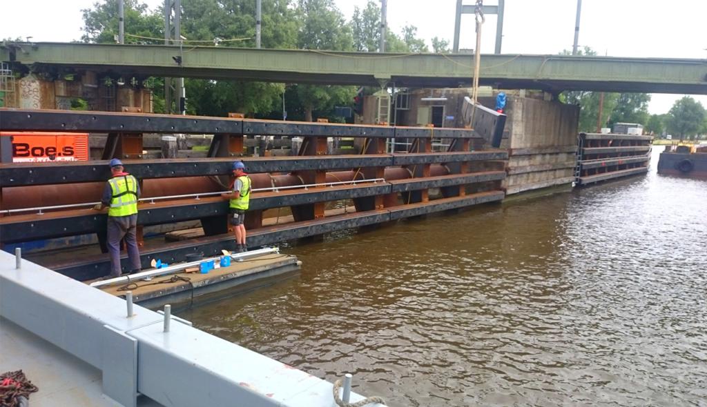 Remmingwerk Van Harinxmakanaal