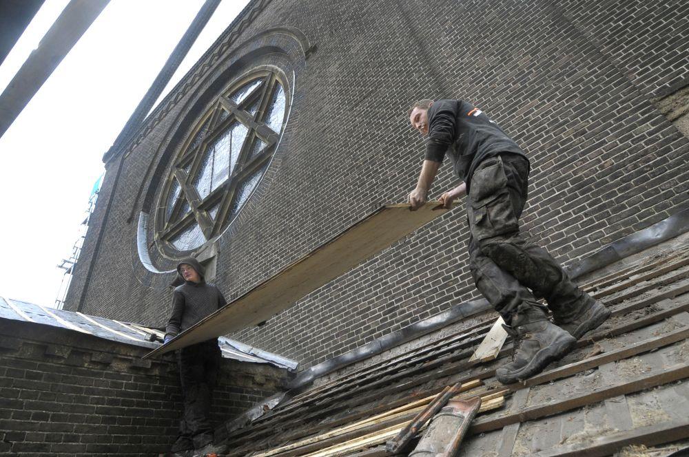 Restauratie Sint Agnes Kerk Amsterdam