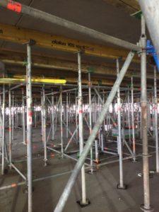 Honderden stempels gebruikt bij parkeergarage BAM Eindhoven Airport