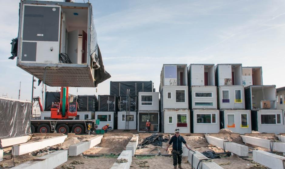 Studentenwoningen verplaatst