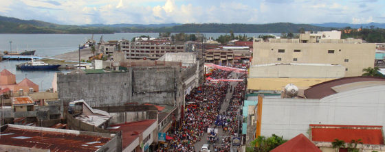 Plan voor bescherming kust Filippijnse stad